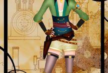 Steampunk / by Cherri Designs