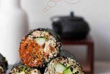 Kingnua and raw fish ;) / Sushi