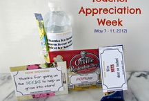 Teacher Appreciation / ideas for teacher appreciation