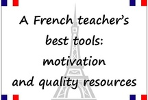 Le Français / French high school information. Some ideas to be adapted from elementary for high school.