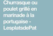 Poulet grillé portugais
