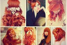 Немного рыжего =) / Завораживающий рыжий цвет волос.