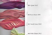 Shibori tabella colori