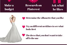 ♥Wedding Infographics / Here are the little facts about weddings put together in infographics