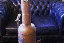 ariane , fusée de cuivre hauteur 1m65