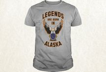 """Legends are BORN in USA (All States) / We create designs """"Legends are born in State"""""""