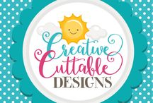 Creative Cuttables-SVG Files / Creative Cuttables is an SVG file and clipart company offering unique designs for Silhouette and Cricut cutting machines.