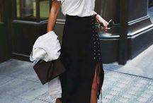 Living For That Midi Skirt
