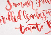 Calligraphy - Typography