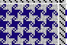 4 Shaft Weaving Drafts