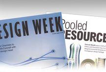 Moo Web Design Magazine Design