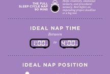 sleeping & time saving