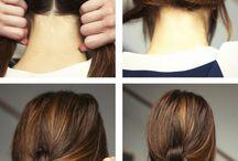 cabelos + penteados
