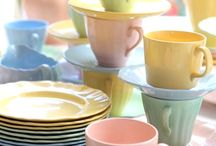 Vintage Dishes from the 1950's