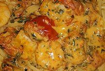 Garnelen-Tomatensoße Zu Nudeln