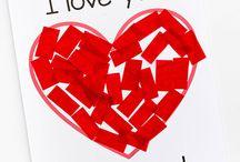 Kids Valentines day crafts / Kids | Valentines | Love | Crafts | Homeschooling