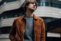 Men Street fashion poses