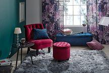 Draamaa ja väriä / Syksyn sisustusuutuuksissa on draamaa, runsautta, näyttävyyttä sekä värikylläisyyttä. Ylellisyyttä kotiin tuo pehmeä sametti.
