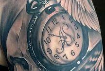 tattoo zegar