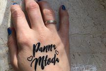 Panna Młoda tatuaże zmywalne