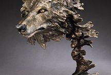 Bronze sculptures: Mark Hopkins 2 / Bronze sculptures, www.artifactsgallery.com