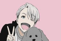 Victor Nikiforov XDD / The best figure skater ever The living lonely legend Yuri!!! On ice XDDDDD