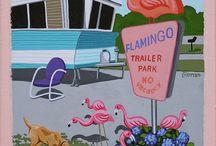 Pink Flamingo / by Helene helene.engdahl@gmail.com kadri