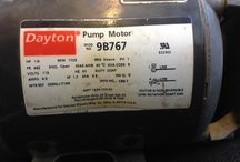 Dayton / Pumps and motors that are either current or obsolete produced by the Dayton brand, owned by WW Grainger