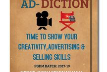 """GLBIMR- Marketing Club is organizing an event named """"AD-DICTION"""" for PGDM students"""