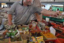 Food market / THE smel of freshness