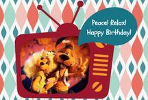 Loeki's cards - Geesink & Creagaat / Loeki de Leeuw was 32 jaar lang een echte televisieSTER! Nu kun je zijn kaartjes de wereld rond sturen! Meer kaarten op Kaartje2go