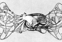 эскизы украшений рене лалик