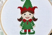 Cross stitch Elf