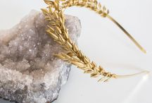 HEADBANDS X NATURAE DESIGN /  Headbands handmade in the studio of Naturae Design. A flexibel and easy to wear goldplated headband.  Beautiful with your hair down ore with a romantic updo.