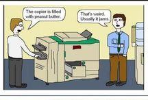 Copier humour