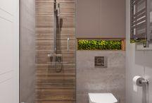 Salle de bain sous sol