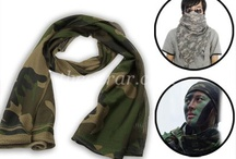 Scarves / Multi-Use Camouflage Mesh Scarf / by Gear Outdoor