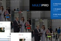 Thems for websites - PSD