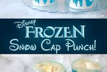 Frozen Party / Create the perfect Disney princess party for the movie Frozen with these great birthday party ideas including party favors, decorations, dessert tables, and more.