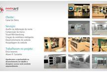 Projetos Visual Merchandising / Projetos em 3d para VM, em parceria com Érica Javaroni