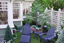 miniature lawn furniture