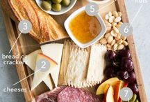 Cheese boards wine