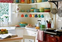 Open Shelves in Kitchens / by AnnaLiisa White