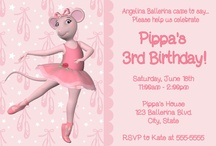 Angelina Ballerina Birthday / Theme for Ellie's 4th.