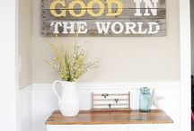 Decorating ideas / by Holly Vreeburg