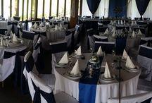 Navy esküvői dekor - tengerészes tematikus esküvők