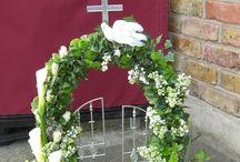 kerk bloemwerk