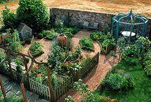 backyard garden ideas / by Renee Johnson