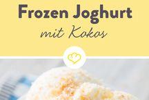 Eis und Frozen Joghurt