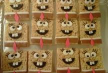 spongebob party ideas / by Lisa Samate